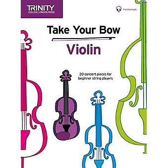 Take Your Bow - Violin by Celia Cobb - 9780857367259 Book