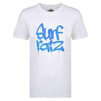 Surf ratz water kids t-shirt – white