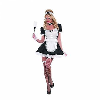 Women Sexy Maid Adult Costume
