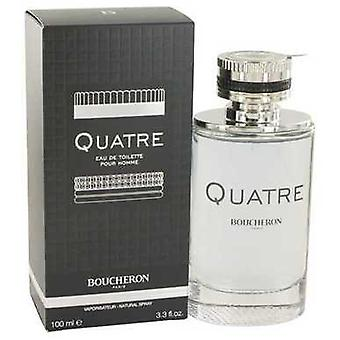 Quatre By Boucheron Eau De Toilette Spray 3.4 Oz (men) V728-518671