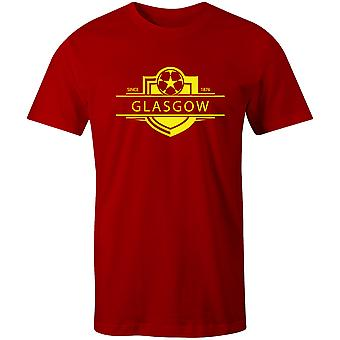 Partick Thistle 1876 gevestigde badge voetbal T-shirt