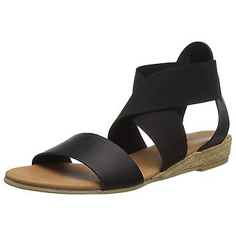 André Assous Womens Malta Leather Open Toe Casual Strappy Sandals