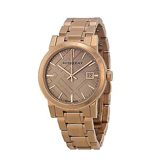 Burberry Bu9135 Rose Gold-tone Stainless Steel Ladies Watch