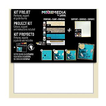 Pebeo Mixed Media Project Kit with Art Panel #754901