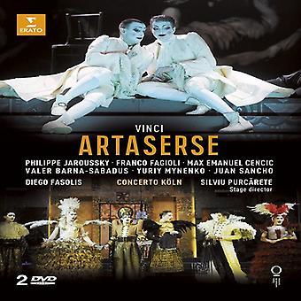 Vinci - Artaserse [DVD] USA import
