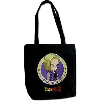 Sac fourre-tout - Dragon Ball Z - Nouveau SD Android 18 Toy Licensed ge82474