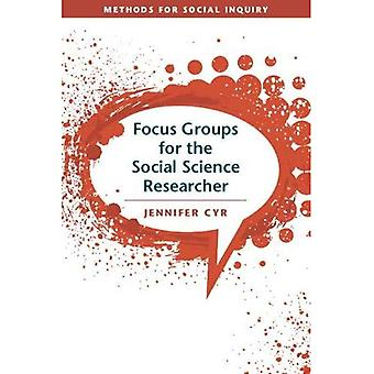 FOCUS GROUPS SOCIAL SCNCE RESEARCHR