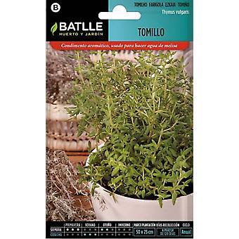 Batlle Thyme (Garden , Gardening , Seeds)
