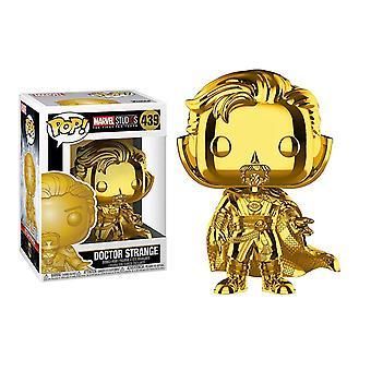Pop! Marvel: MS 10 - Doctor Strange Gold Bobblehead