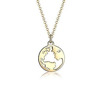 Elli Silber Anhänger Halskette 0110210617_45