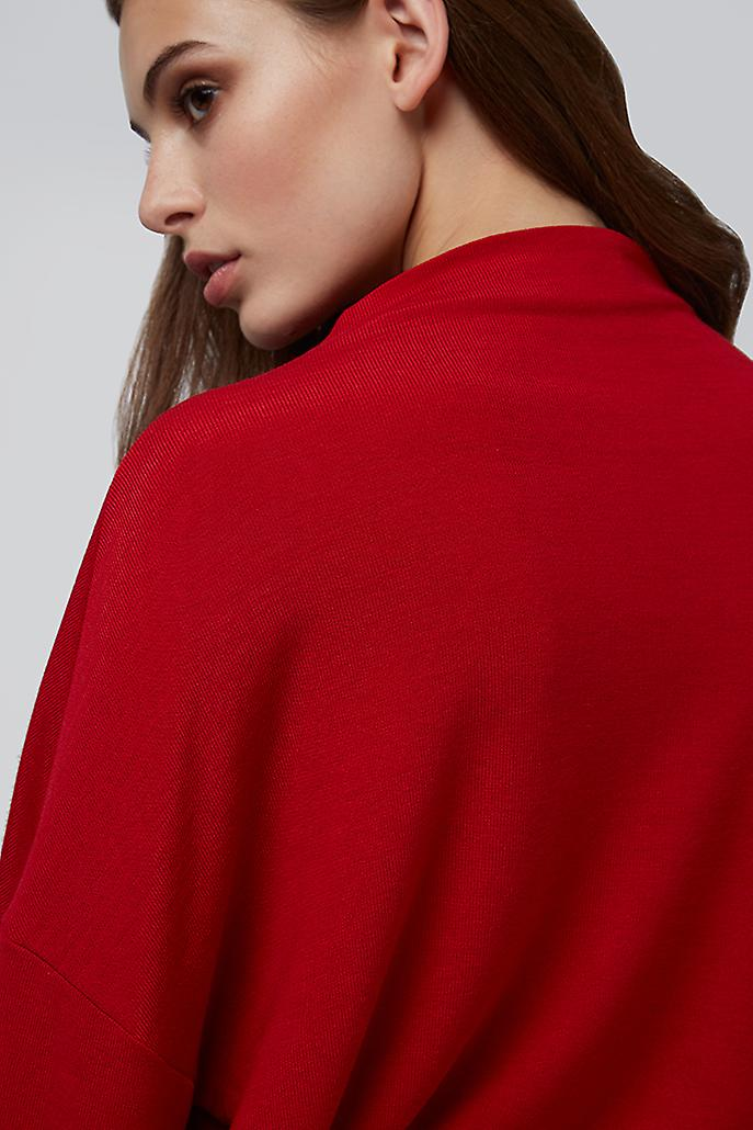 Louche Talina Knit Top Red