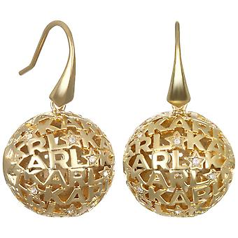 Karl Lagerfeld Woman Brass Not Available Earrings 5448314