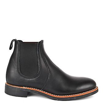 Red Wing Women's 6-inch Black Leather Chelsea Boot