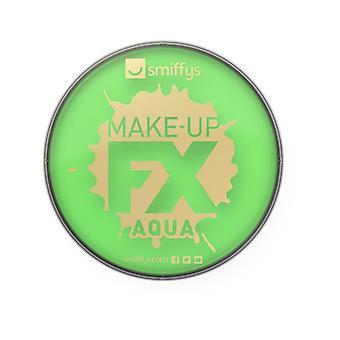 Make-Up Smiffys FX, calce verde, Aqua viso e Body Paint, 16ml, costume accessorio a base d'acqua