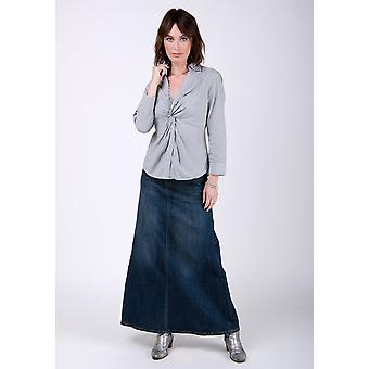 Ramona Vintage Wash denim rok