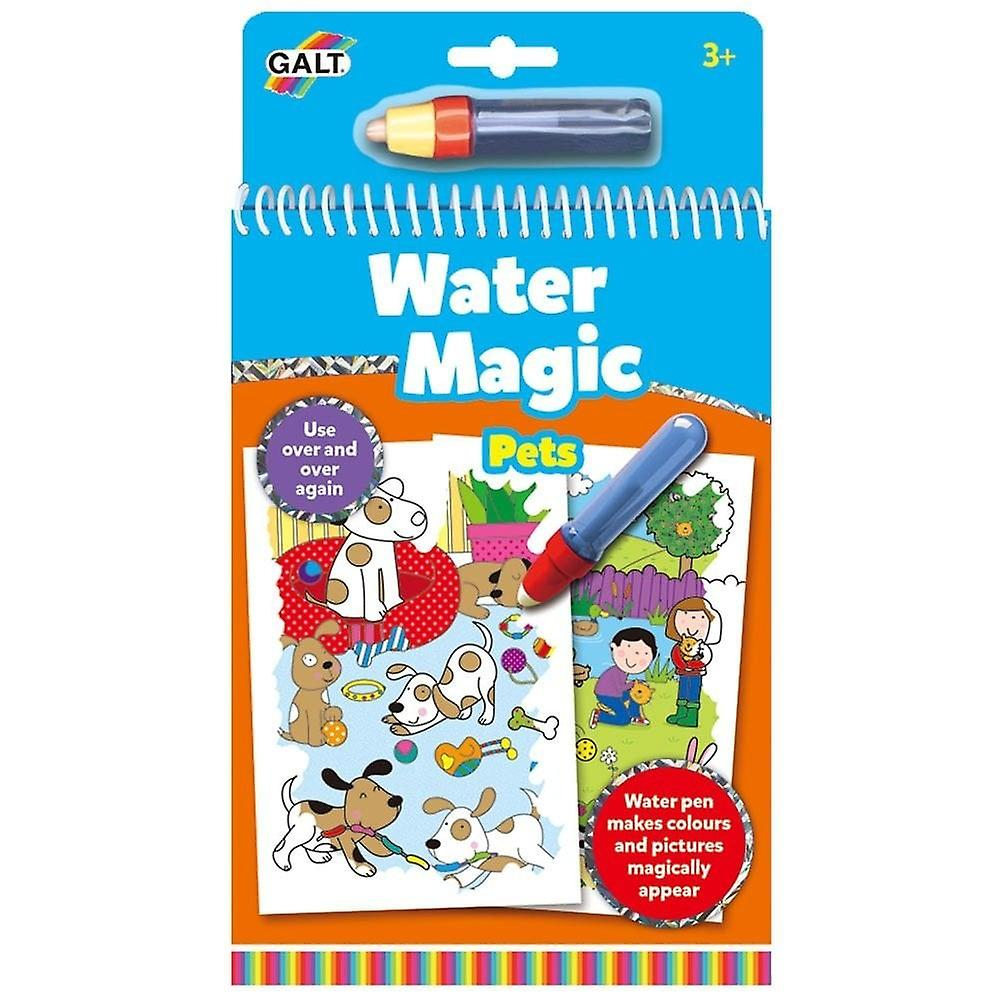 Galt Water Magic - Pets - Re-usable Colouring Book