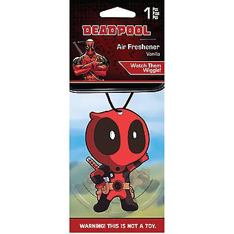 Deadpool Vanilla Scented Air Freshener