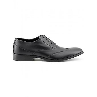 Made in Italia - Shoes - Lace-up shoes - ISAIE_NERO - Men - Schwartz - 43