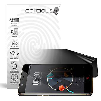 Celicious Privacy Lite (Landscape) 2-Way Anti-Glare Anti-Spy Filter Screen Protector Film Compatible with Nubia N2