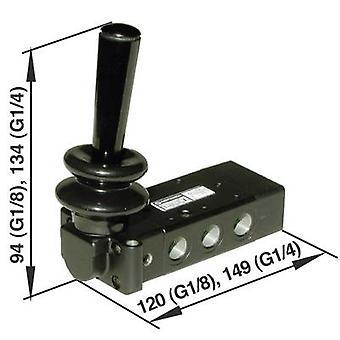 Norgren operado mecanicamente válvula pneumática X3363702 material de gabinete alumínio 1 PC (s)