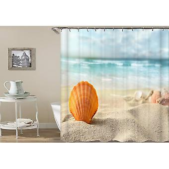 Seashell With An Ocean View Shower Curtain