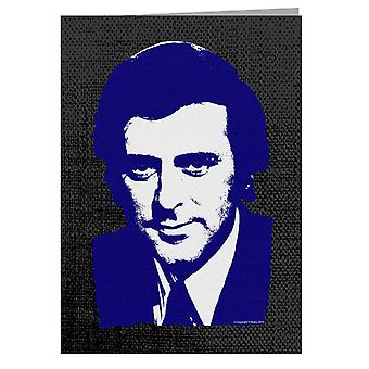 TV Times Presenter Terry Wogan 1972 Greeting Card