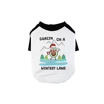 Gaucin Wintery الأرض كول BKWT الحيوانات الأليفة قميص البيسبول هدية عطلة