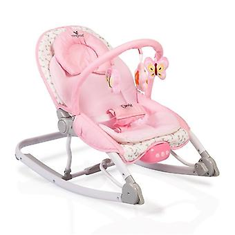 Cangaroo baby rocker Carrie with music and vibration, play bow, from birth