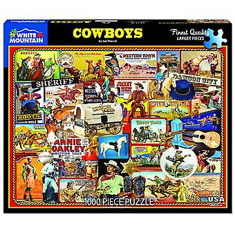 Cowboys 1000 Piece Jigsaw Puzzle 760mm x 610mm (wmp)