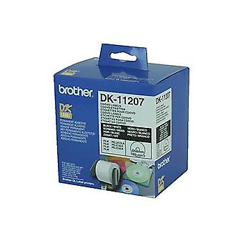 Brother DK11207 100 Per Roll White Label