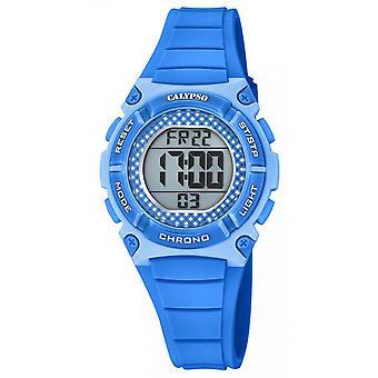 Calypso-K5756-2 - digitale CRUSH Armband R Bluebox R blau Frau Sinus Sinus zu sehen