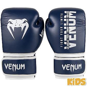 Venum Signature Kinder Boxhandschuhe Navy Blue