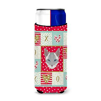 Ojos Azules Cat Michelob Ultra Hugger for slim cans