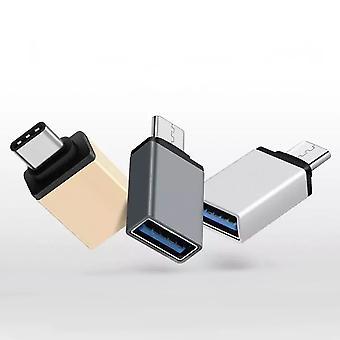 USB to USB C adapter metal macbook