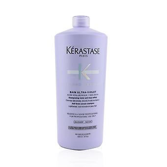 Kerastase Blond Absolu Bain Ultra-violet Anti-brass Purple Shampoo (lightened Cool Blonde Or Grey Hair) - 1000ml/34oz