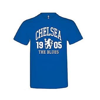 Chelsea Childrens/Kids Royal Blue T Shirt With The Blues Design
