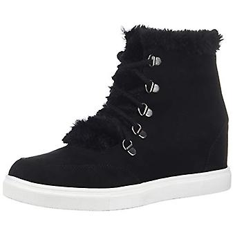 Madden Girl Women-apos;s Pulley Ankle Boot, Black Fabric, 10 M Us