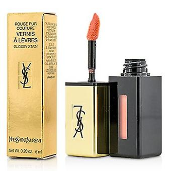 Yves Saint Laurent Rouge Pur Couture Vernis A Levres Glossy Mancha - 43 Rose Folk 6ml/0.2oz
