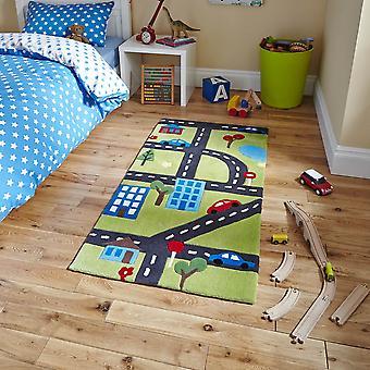 Denken Sie Kinder 5179 grün Rechteck Teppiche Kinder Teppiche