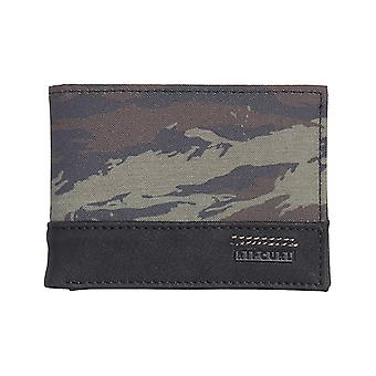 Rip Curl Raptured Pu Slim Faux Leather Wallet in Khaki