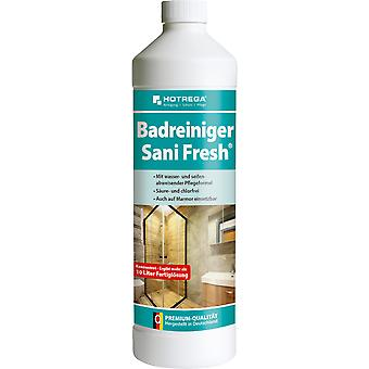 "HOTREGA® Bath Cleaner & quot;Sani Fresh"", 1 liter flaske (konsentrat)"
