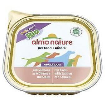 Almo nature Daily Menu Bio Salmon (Psy , Karma dla psów , Mokra karma)
