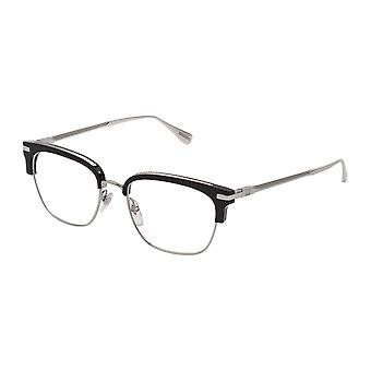 Dunhill VDH157 0579 Shiny Palladium-Black Glasses