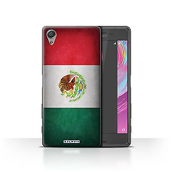 STUFF4 Case/Cover for Sony Xperia X Performance/Mexico/Mexican/Flags