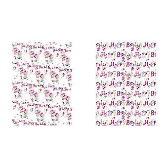 Simon Elvin 24 Sheets Designer Female Gift Wraps