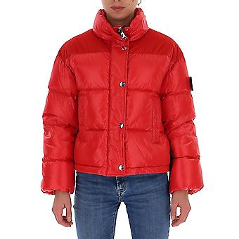 Na Label Al033450 Women's Red Polyester Down Jacket
