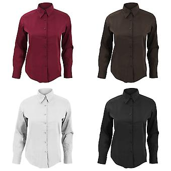 SOLS Womens/Ladies Eden Long Sleeve Fitted Work Shirt