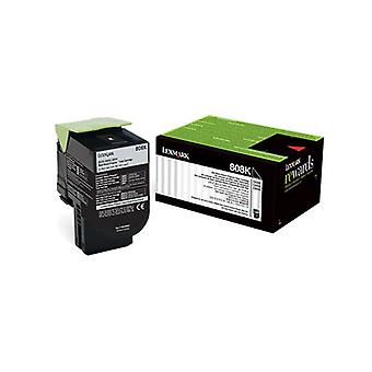 Lexmark 808K Black Return Toner Cartridge