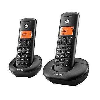 Telefon bezprzewodowy Motorola F52000K50O2AES03 (2 szt.) Czarny