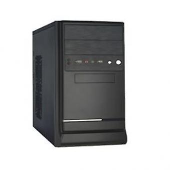 HKC 4681A Micro-Tower behuizing [mATX 450W 1x FDD 2x Molex 3x SATA 20+4pin 1x 4pin 12cmFan PFC]